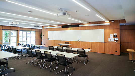 As a member of the Melbourne Business School alumni community, you're encouraged to use our facilities anytime you need them.